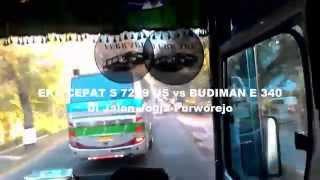 Balapan Bis Eka vs Budiman