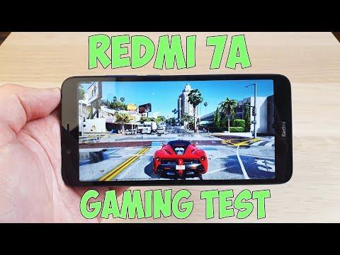 REDMI 7A GAMING TEST (SNAPDRAGON 439) - ИГРОВОЙ ТЕСТ!