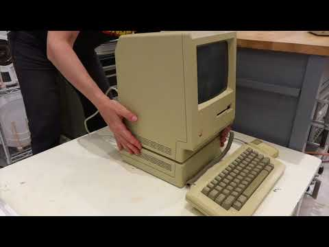 Unboxing the Mac 512K and Floppy Repair