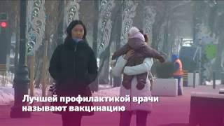 В Алматы циркулируют все сезонные виды гриппа