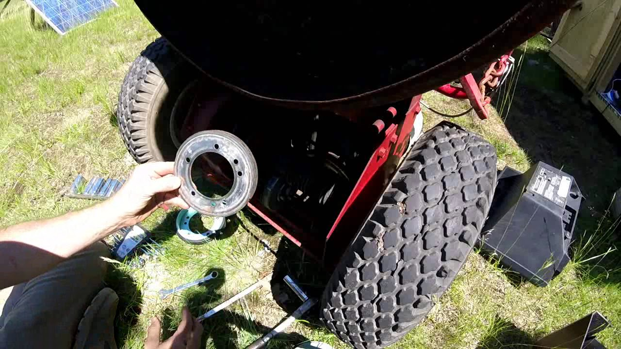 fast easy replacement of snapper mower friction drive disc [ 1280 x 720 Pixel ]