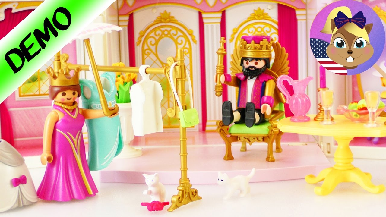 Playmobil Princess King Castle 4898 Portable Castle King S Castle For Playing With Clothes