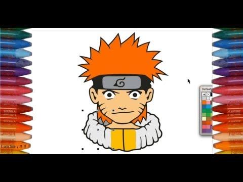 Menggambar Dan Mewarnai Gambar Naruto Colloring And Drawing Naruto