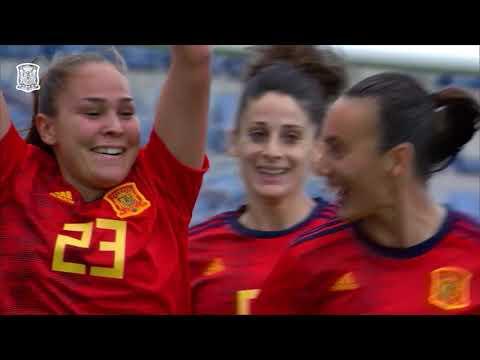 Resumen España 4-0 Camerún. Amistoso Selección femenina
