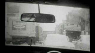 NYC Taxi Ride up 1st Ave circa 1971