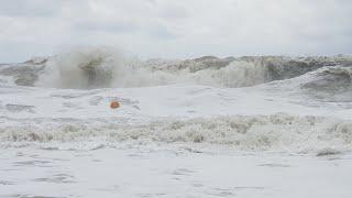 АНАПА Погода 8 09 2018 УЖАСНЫЙ ШТОРМ И купание В НЁМ Тургеневский спуск Каменный каменный 18