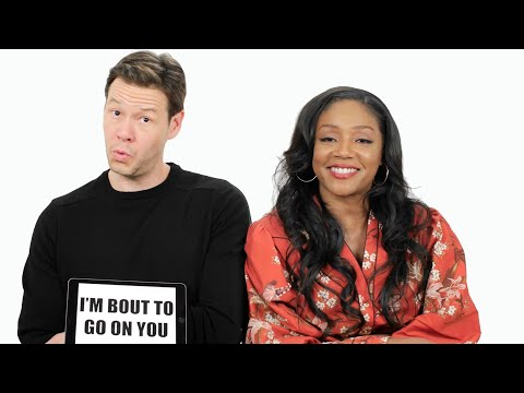 Tiffany Haddish Teaches You Chicago Slang with Ike Barinholtz  | Slang School | Vanity Fair