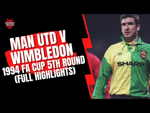 Download Wimbledon v Man Utd 1994 FA Cup 5th Round (Original Sky Footage Highlights)