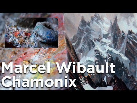 Musée Marcel Wibault peintre de montagne Chamonix Mont-Blanc interview Lionel Wibault - 11613