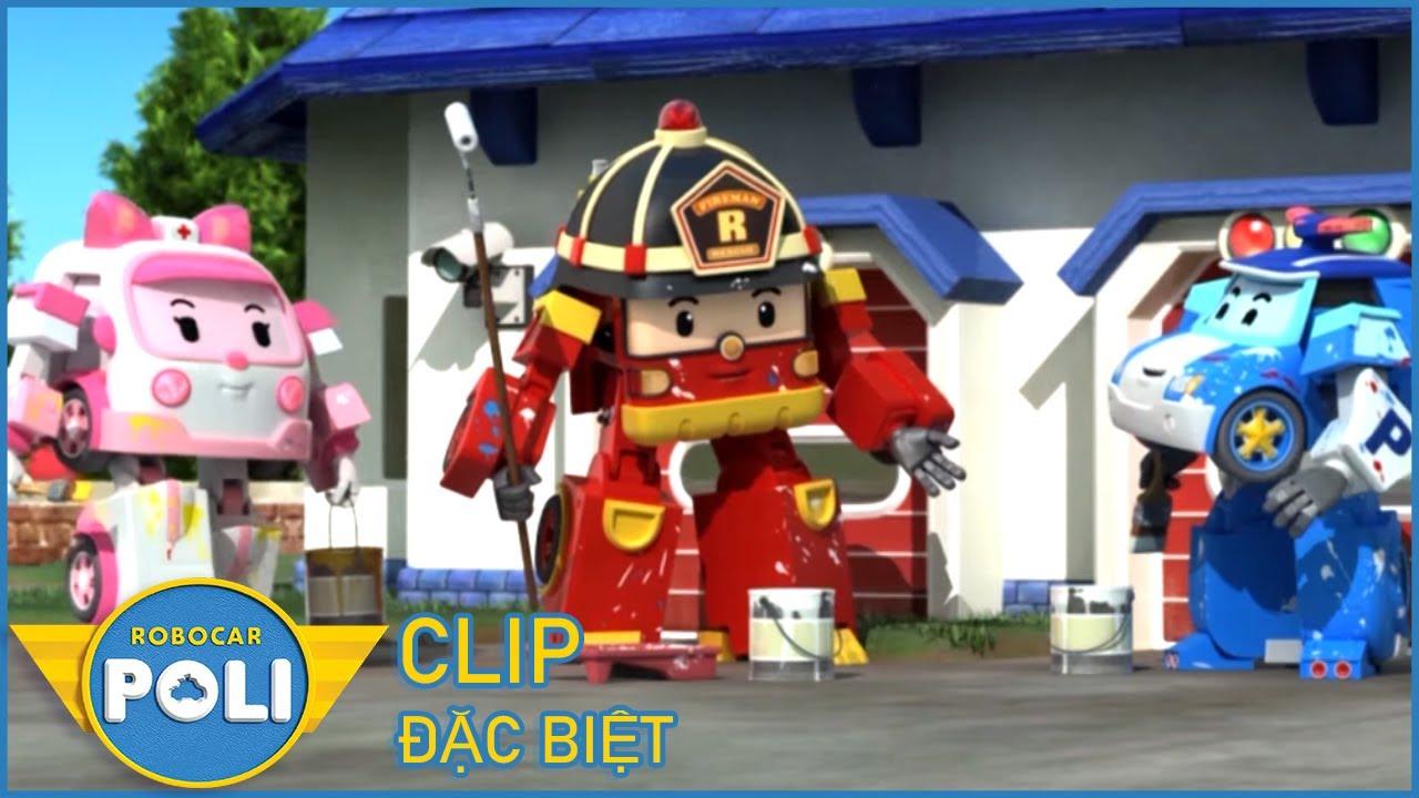 POLI và các bạn - Siêu Xe Cứu Hộ Thành Phố CLIP ĐẶC BIỆT #10 - Phim hoạt  hình Robot Biến Hình - YouTube