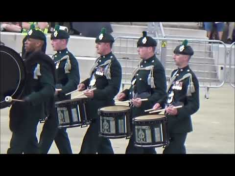 The Bugles, Pipes and Drums of The Royal Irish Regiment, Army Waless Musical Pageant (part 3)