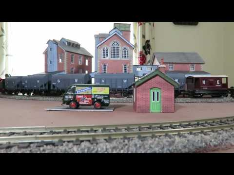 Model Railway, Metcalfe Brewery Kit. PO229 OO/HO