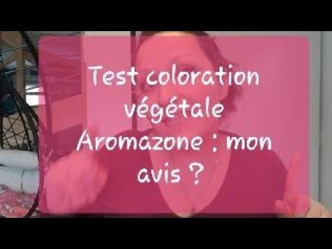 TEST Coloration Végétale Aromazone : Mon Avis