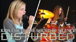 Little Girls Cover Disturbed's The Sound Of Silence