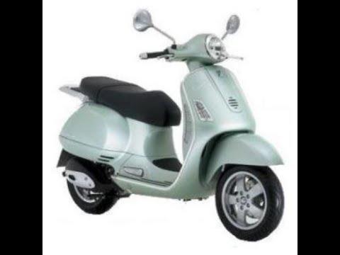 vespa gt 125 / 200 - service manual - wiring diagram - parts manual