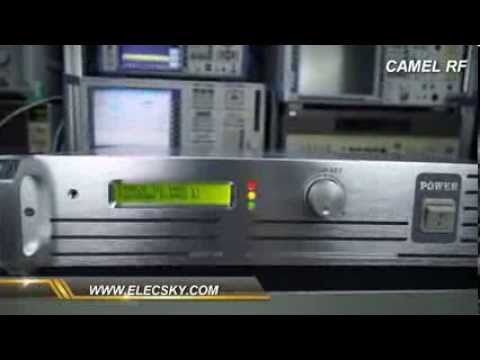 FMT-600H FM Broadcast Transmitter Test Video - YouTube