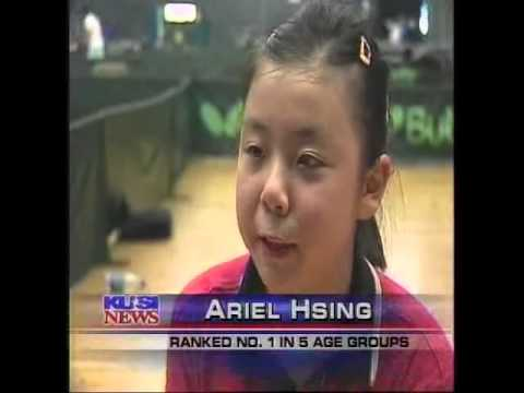 Ariel Hsing and Dennis Davis interview 2007 at US Pan American Trials