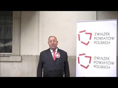 Ludwik Węgrzyn, Prezes Zarządu ZPP, Starosta Bocheński podczas Zgromadzenia Jubileuszowego ZPP