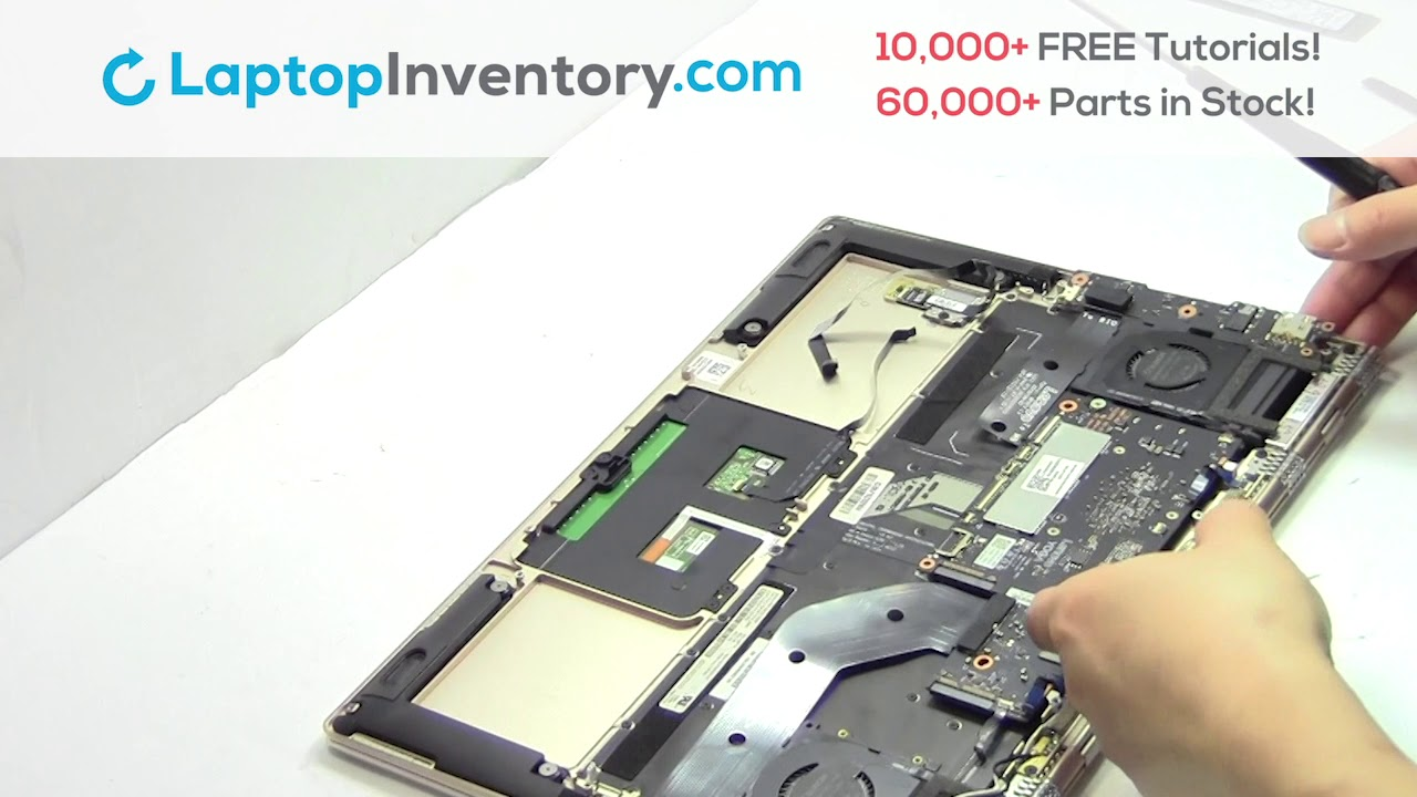 Repair Lenovo Yoga 910 Laptop Motherboard And Fan Dismantle 900 80vf 80vg Youtube