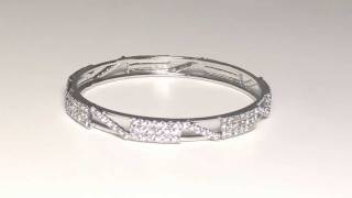 Cubic Zirconia Fashion Bangles Thumbnail