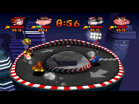 Crash Bash - Dot Dash Platinum Relic
