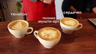 як зробити відео з кави