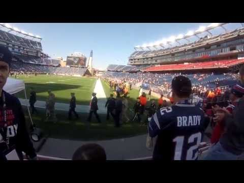 The Real Gillette Stadium Experience: New England Patriots Game