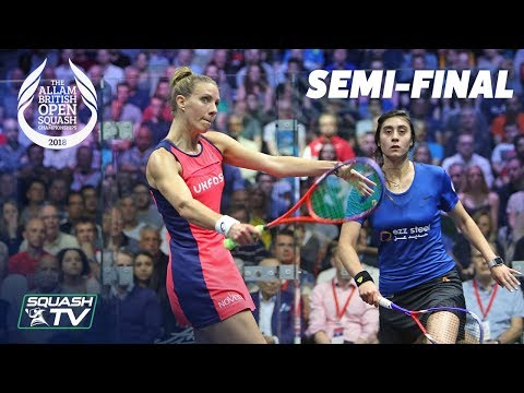 Squash: Allam British Open 2018 - Women's SF Roundup