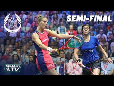 Squash: Allam British Open 2018 - Women\'s SF Roundup