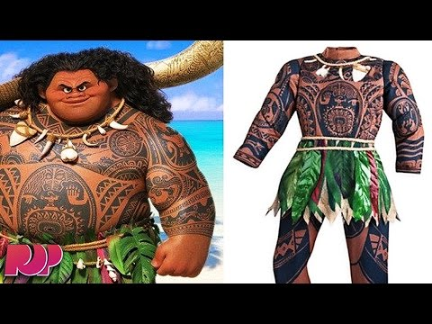 "Is Disney Doing ""Brownface"" In This Moana Costume?"