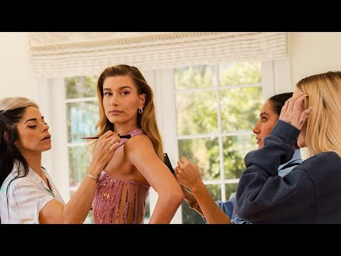 GET READY WITH ME | Hailey & Guests Maeve Reilly, Jen Atkin & Denika Bedrossian prep for a big event
