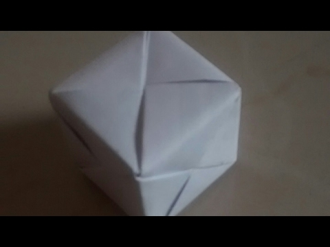 HOW TO MAKE PAPER CUBE #EASY#