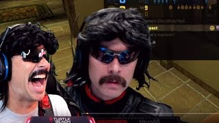 DrDisRespect Reacts To His Old Funny CSGO Moments & CHAT Tells Doc to Clean His Keyboard (7/23/18)