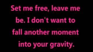 Sara Barielles - Gravity (lyrics) Mp3