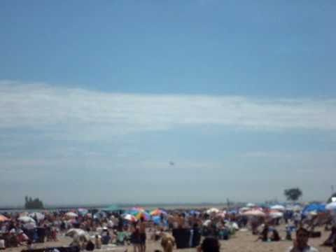 F-18 Sonic Boom At Air Show Chicago