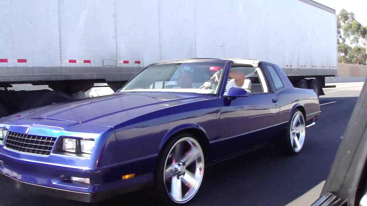 All Chevy 1988 chevrolet monte carlo ss for sale : 87 ss monte carlo t-top choppin - YouTube