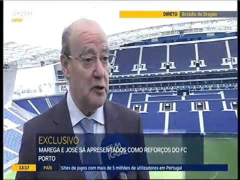 Pinto da Costa comenta as contratações de Marega e José Sá
