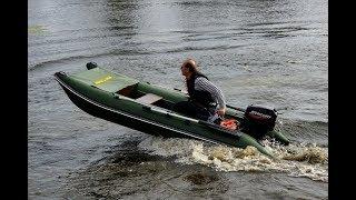Лодка под мотор 5 л.с, 6 л.с | Bober 350