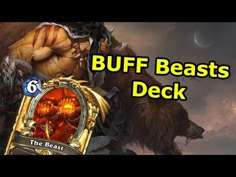 Hearthstone Fun Decks: Buff Beasts (Wild Hunter Witchwood Deck)
