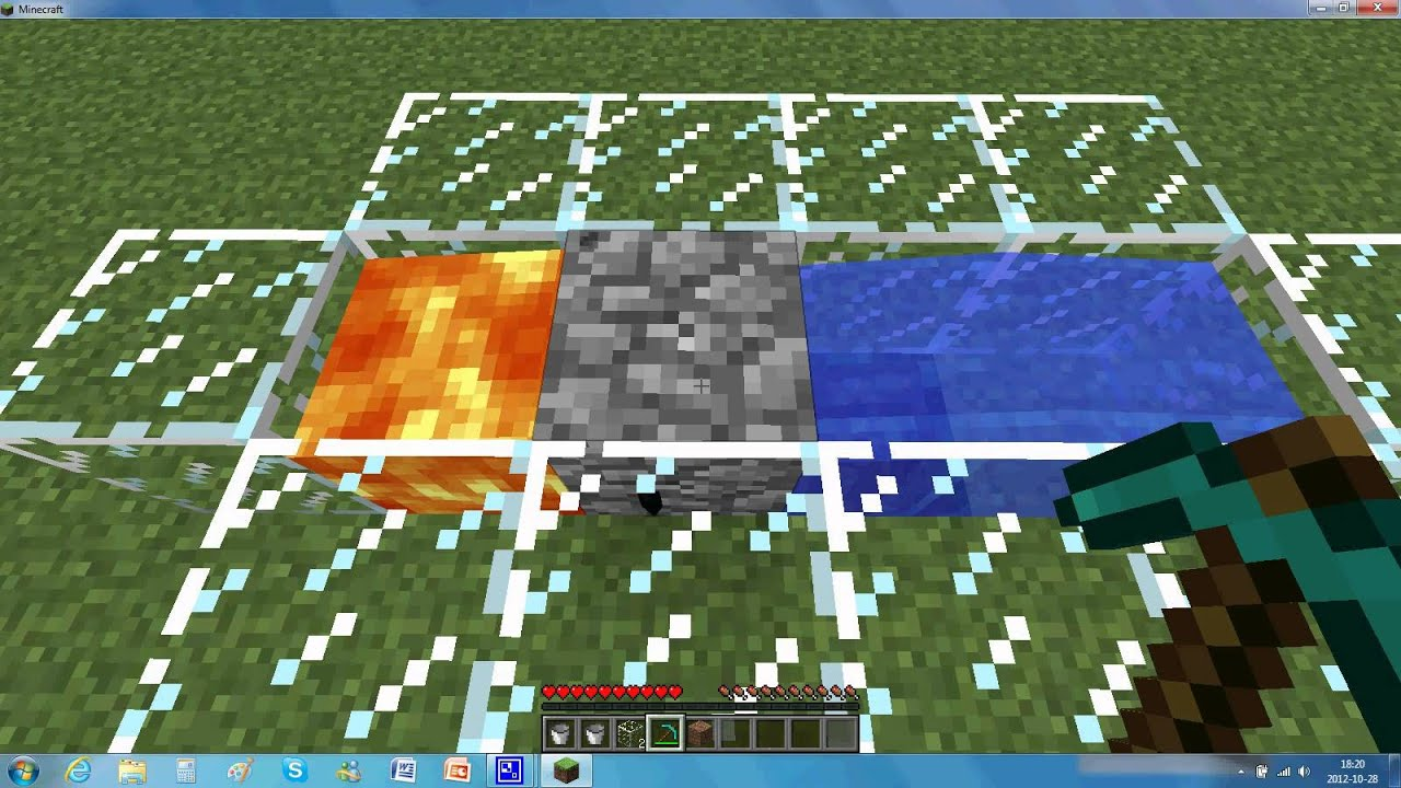 Tuto comment faire un g n rateur de cobble stone le plus - Comment fair une table d enchantement dans minecraft ...