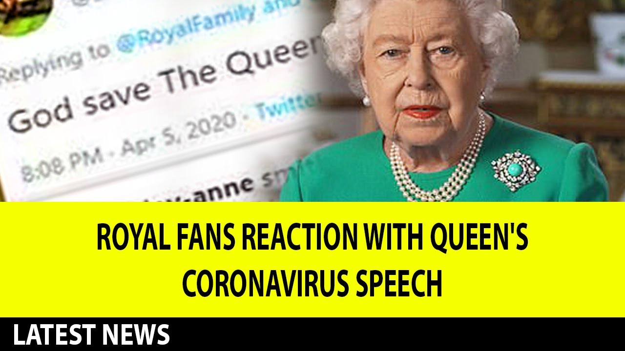 Royal fans reaction with Queen Elizabeth's co*rona speech: 'God save the Queen!'