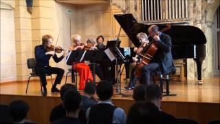 Louis VIERNE Quintette avec piano : Premier mouvement