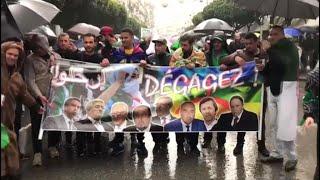 Algérie: les manifestants rejettent le soutien du FLN au mouvement