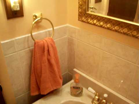 Small bathroom remodeling with ceramic tile bill 39 s for Youtube bathroom remodel