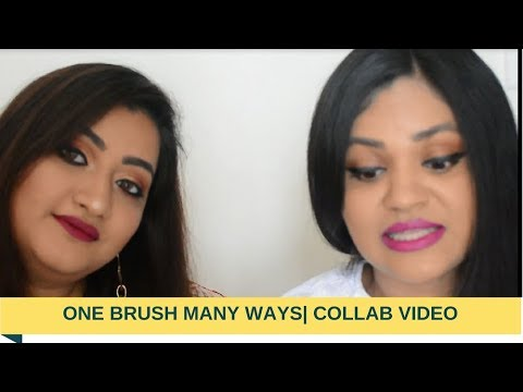 One Brush Many Ways |Collab With GlammegalCurrent Favourite Makeup Products|