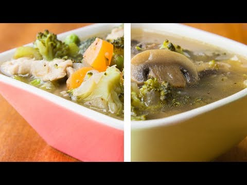 2 Soups For Weight Loss | Healthy Soup Recipes