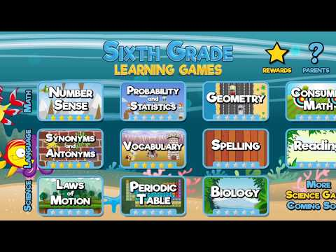 Sixth Grade Learning Games Apps On Google Play