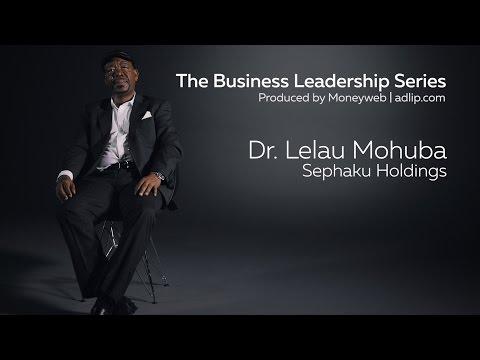 Moneyweb Business Leadership Episode 8 - Dr Lelau Mohuba