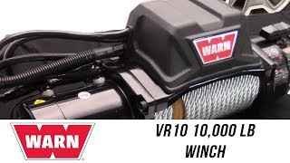 In the Garage™ with Performance Corner®: WARN VR10 Standard Duty Winch