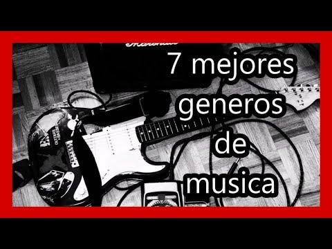 7 mejores generos musicales